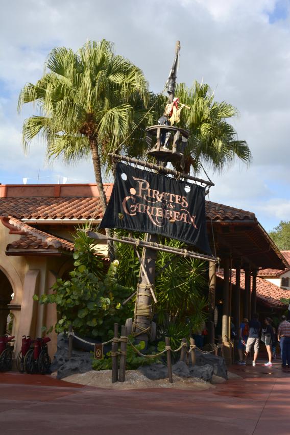 Magic Kingdom Pirates of the Caribbean Ride