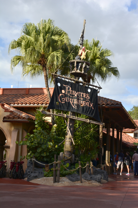 Magic Kingdom Pirates of the Caribbean Ride