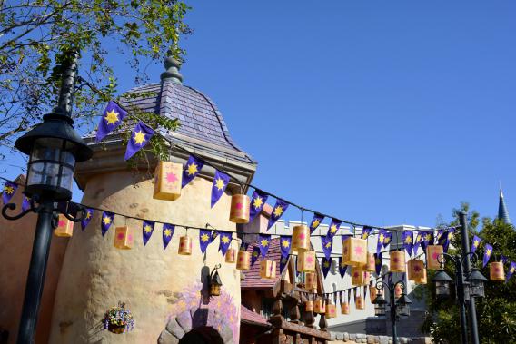 Tangled at Disneyworld