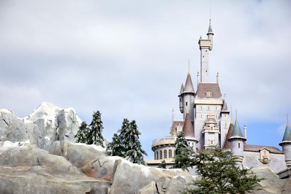 Disneyworld's Be Our Guest Restaurant, Castle