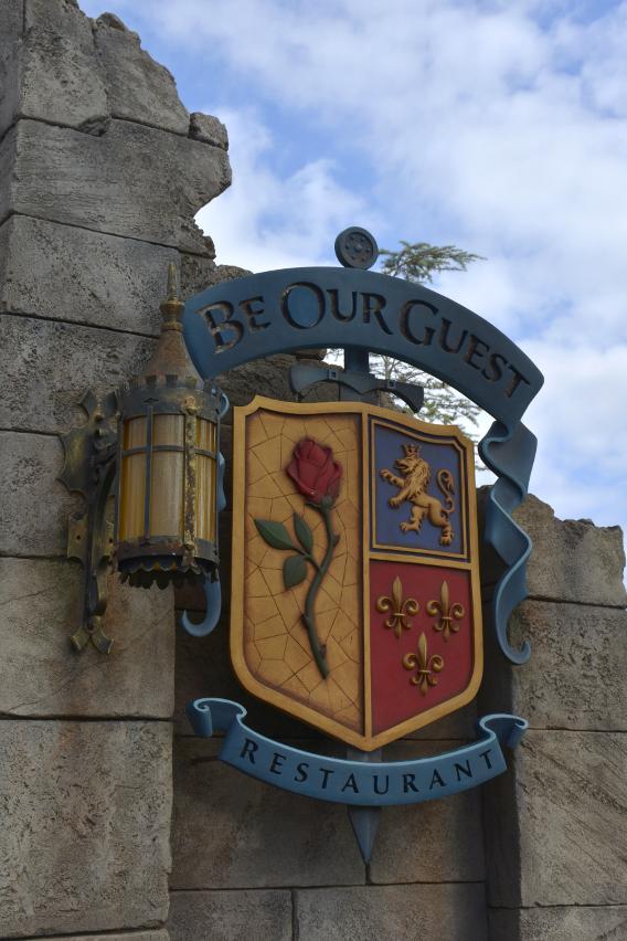Disneyworld's Be Our Guest Restaurant