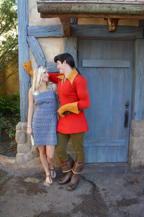 Why, hello Gaston!