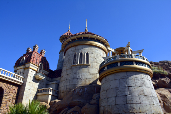 Ariel's Castle from Little Mermaid