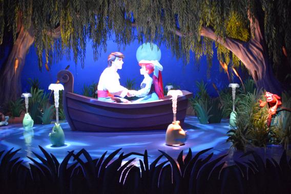 Magic Kingdom Little Mermaid Ride
