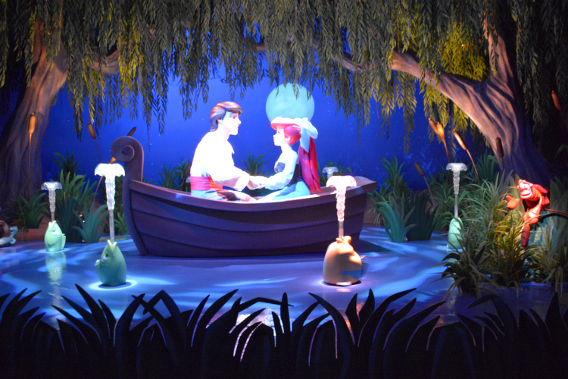 Magic Kingdom Little Mermaid Ride