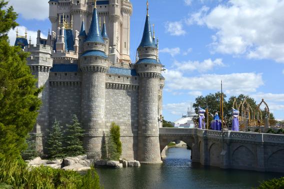Cinderella's Castle Moat