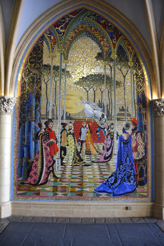 Mosaics in Cinderella's Castle, Disneyworld