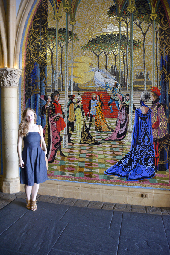 Mosaics in Cinderella's Castle