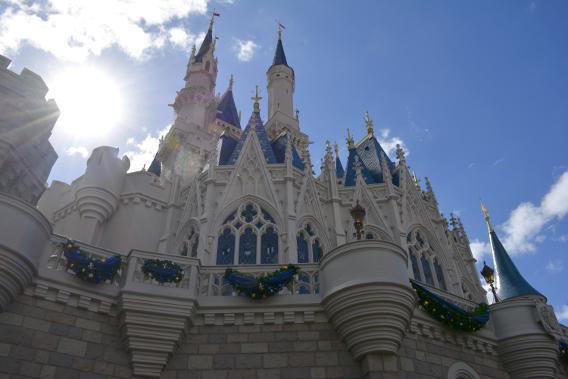 Christmas at Cinderella's Castle