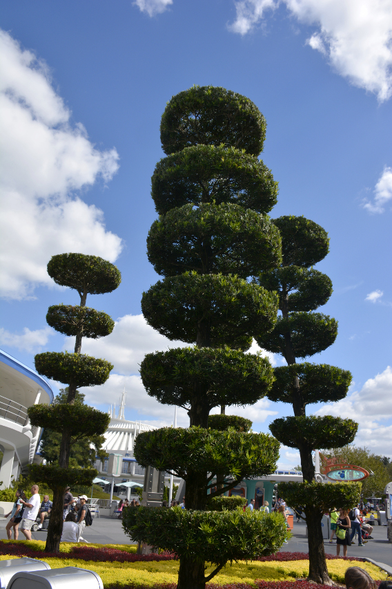Topiaries in Tomorrowland