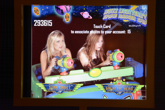 Buzz Lightyear's Space Ranger Spin Ride Photo