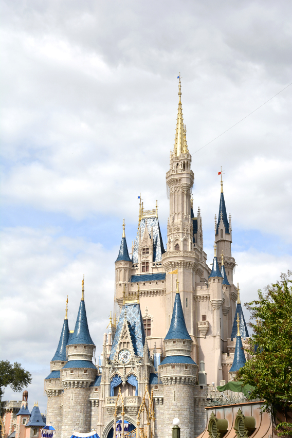 Magic Kingdom Cinderella's Castle