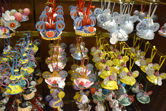 Minnie Mouse Hat Princess Ornaments at Disneyworld
