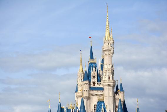Cinderella's Castle at Orlando's Magic Kingdom 2