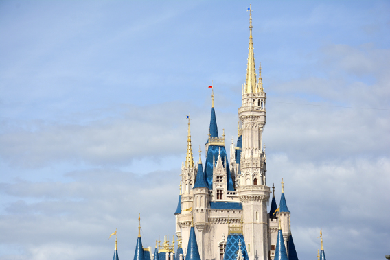 Cinderella's Castle at Orlando's Magic Kingdom 2