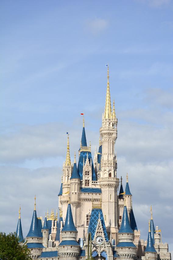 Cinderella's Castle at Orlando's Magic Kingdom