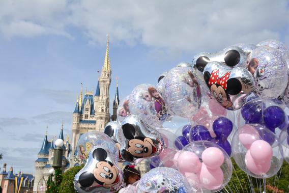 Mickey Mouse Balloons at Disneyworld