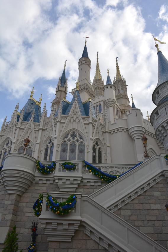 Cinderella's Castle at Magic Kingdom Disneyworld Orlando