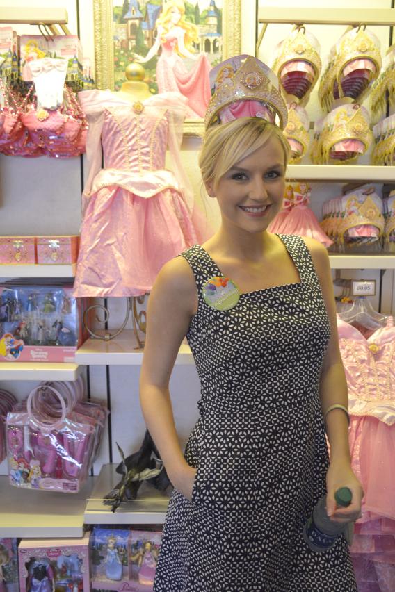 Aurora's Tiara at Disneyworld