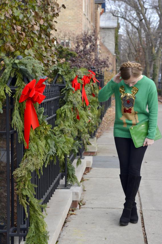 Christmas Pug Sweater 3