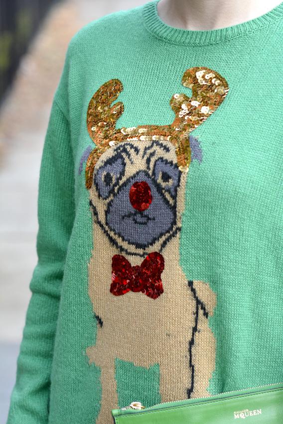 Christmas Pug Sweater 12