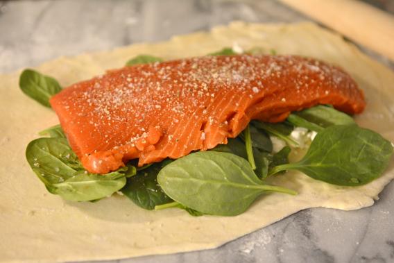 Salmon Wellington Recipe 3