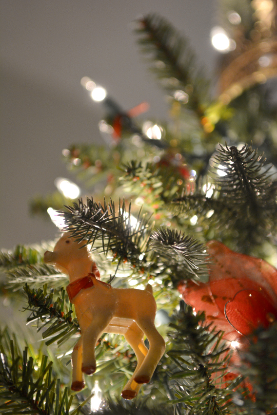 Vintage Rudolph Reindeer Ornament