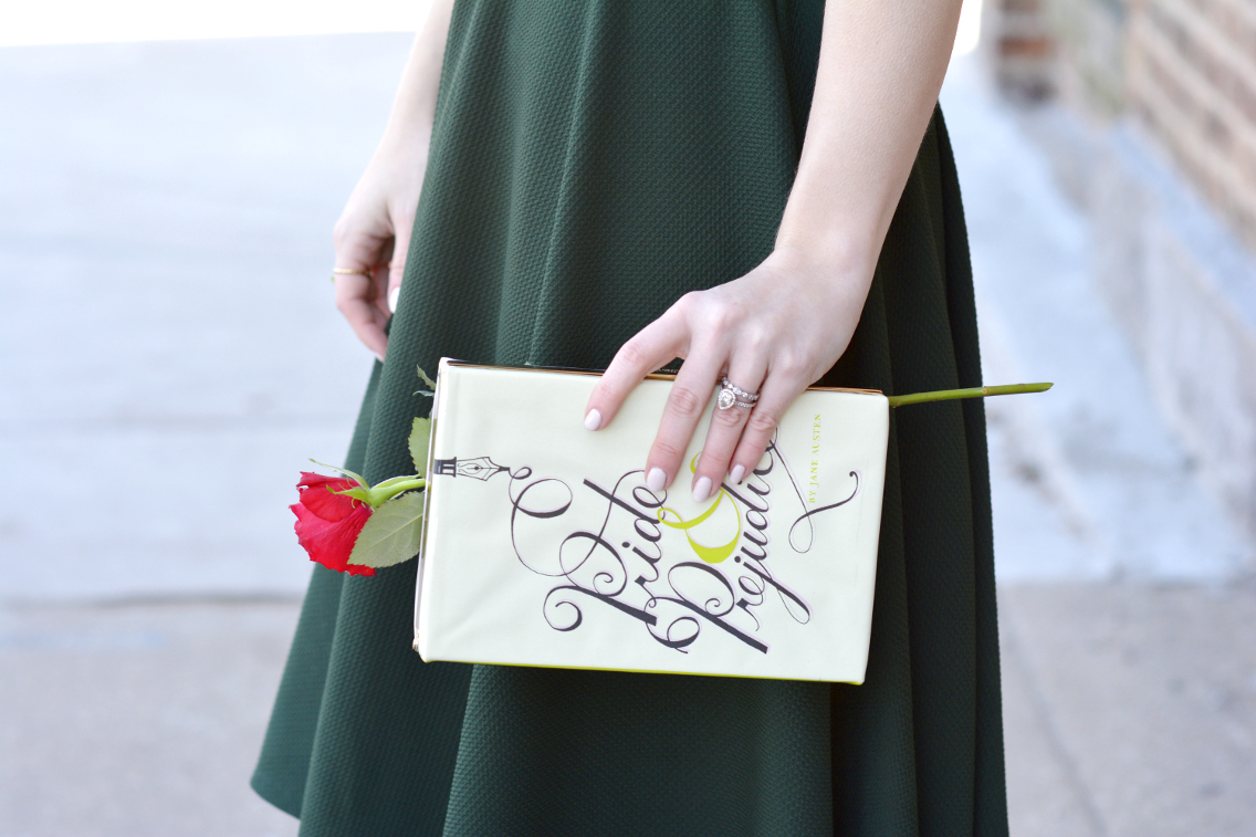 Kate Spade Pride and Prejudice Clutch