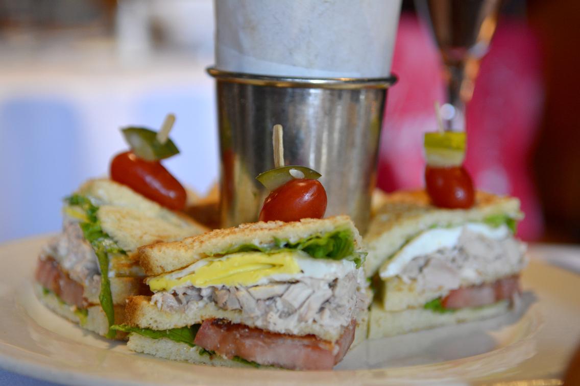 Ralph Lauren RL Restaurant Chicago Polo Club Sandwich