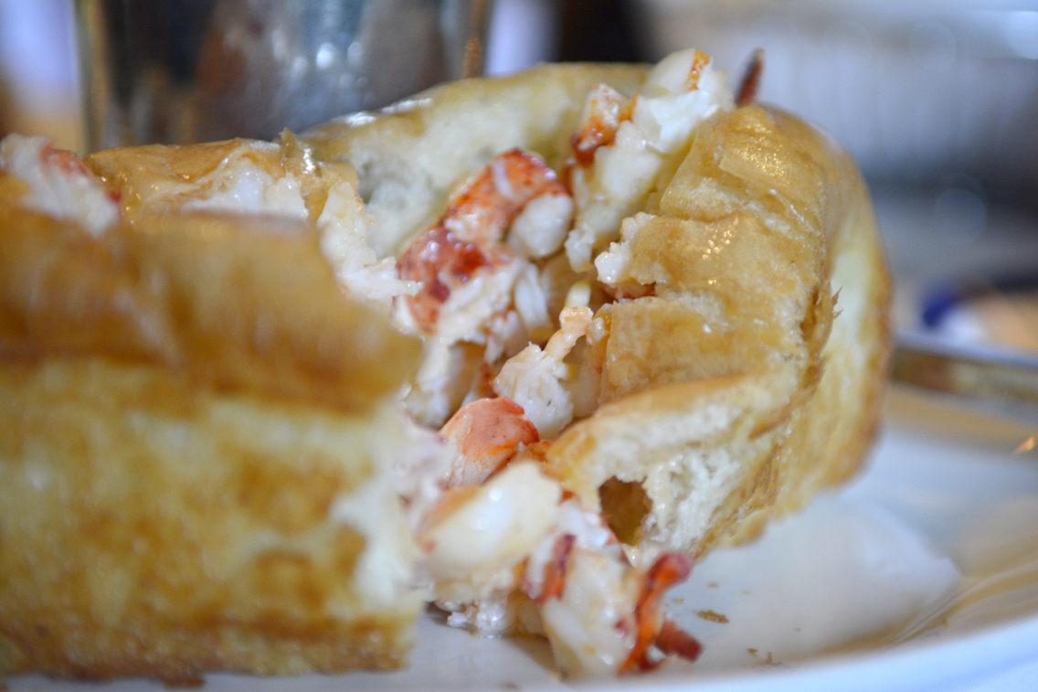 Ralph Lauren RL Restaurant Chicago Lobster Roll with Fries 3