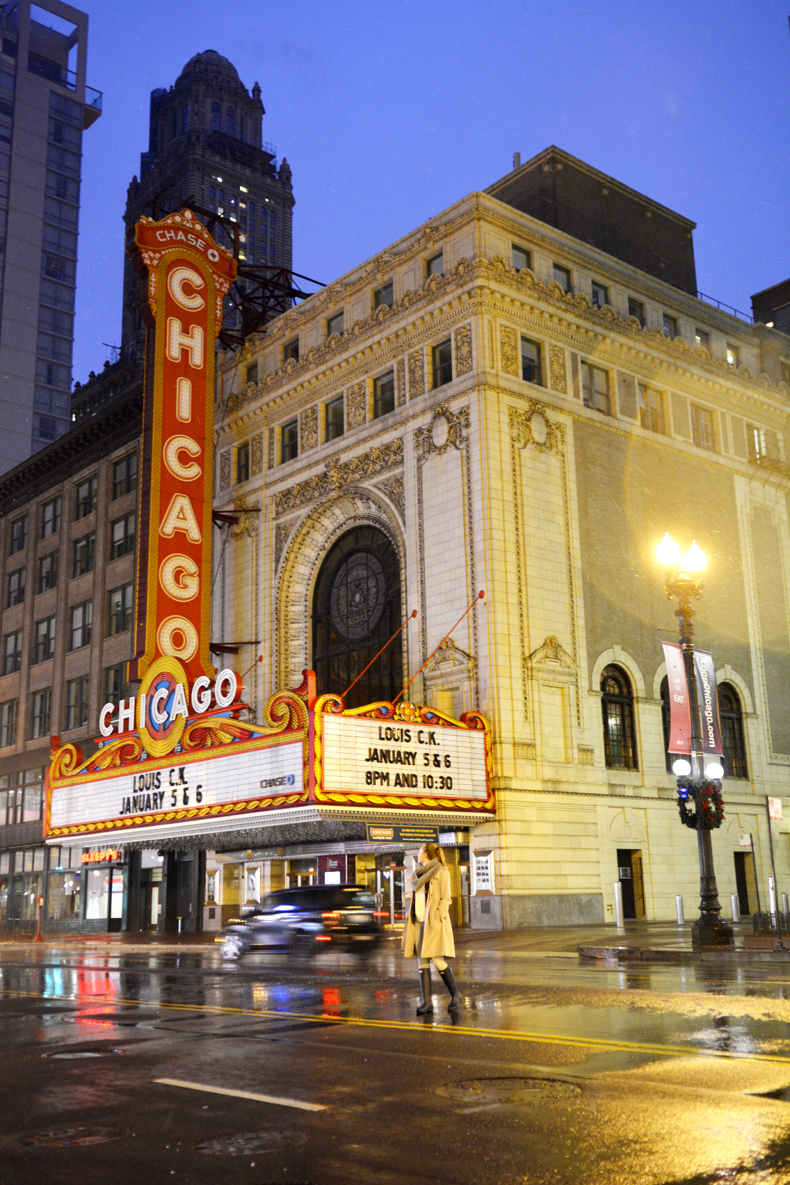 Chicago Theatre with Sed Bona 5