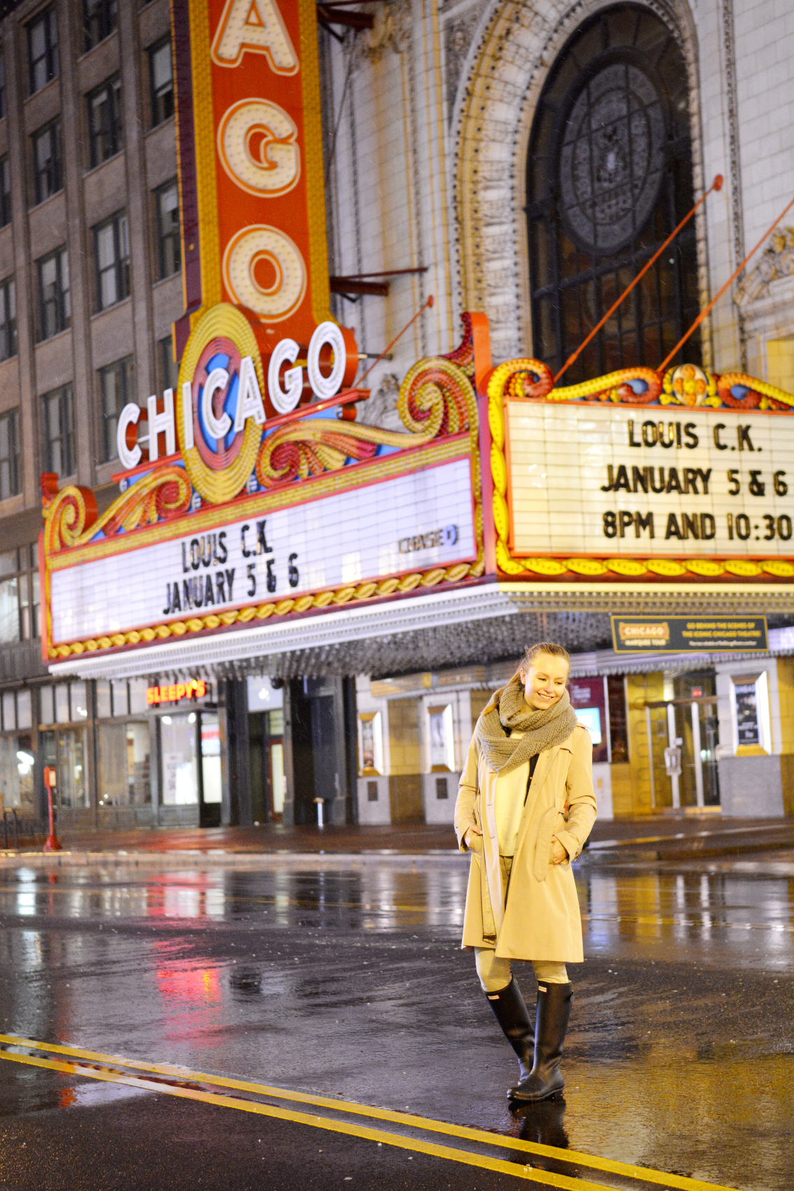Chicago Theatre with Sed Bona 8