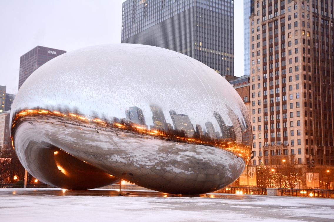 Chicago Millennium Park Cloud Gate The Bean 1