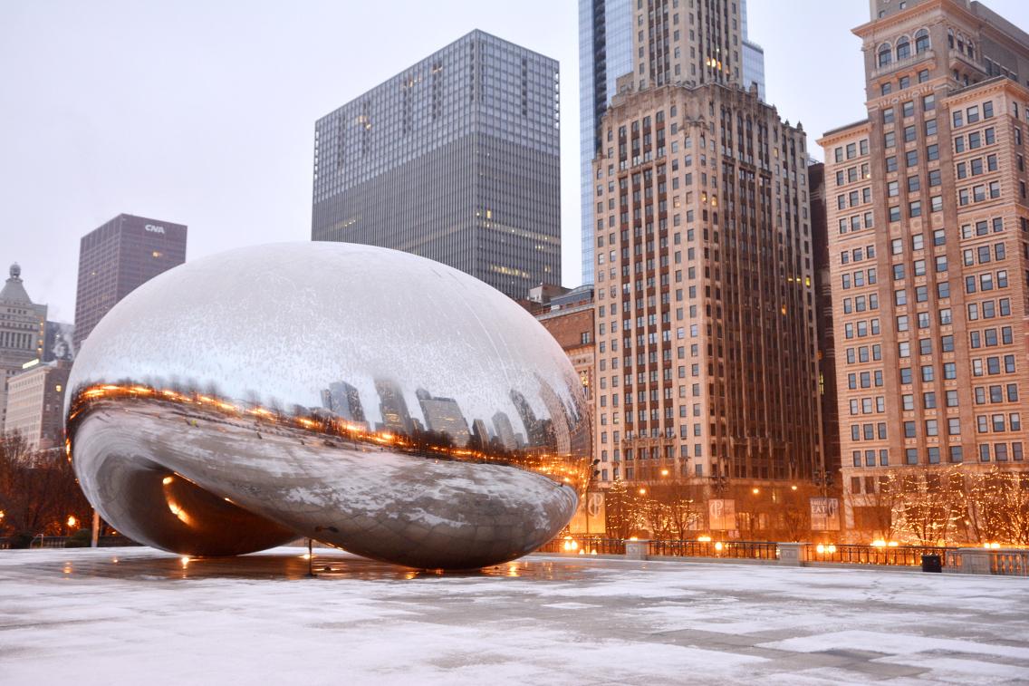 Chicago Millennium Park Cloud Gate The Bean 2