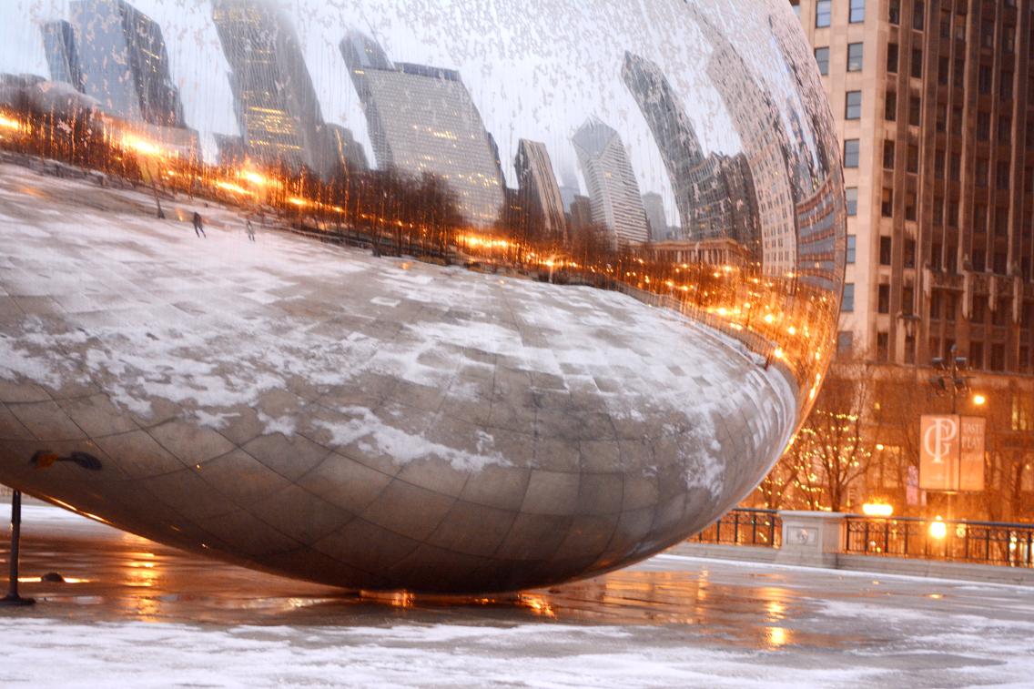 Chicago Millennium Park Cloud Gate The Bean 4