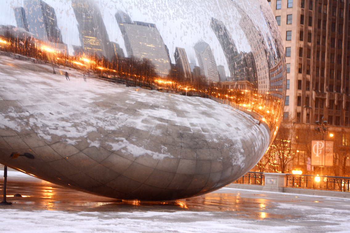 Chicago Millennium Park Cloud Gate The Bean 4
