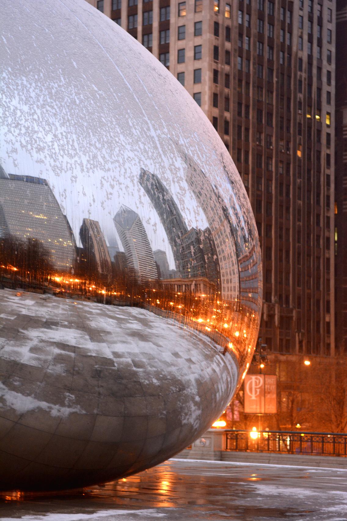 Chicago Millennium Park Cloud Gate The Bean 5