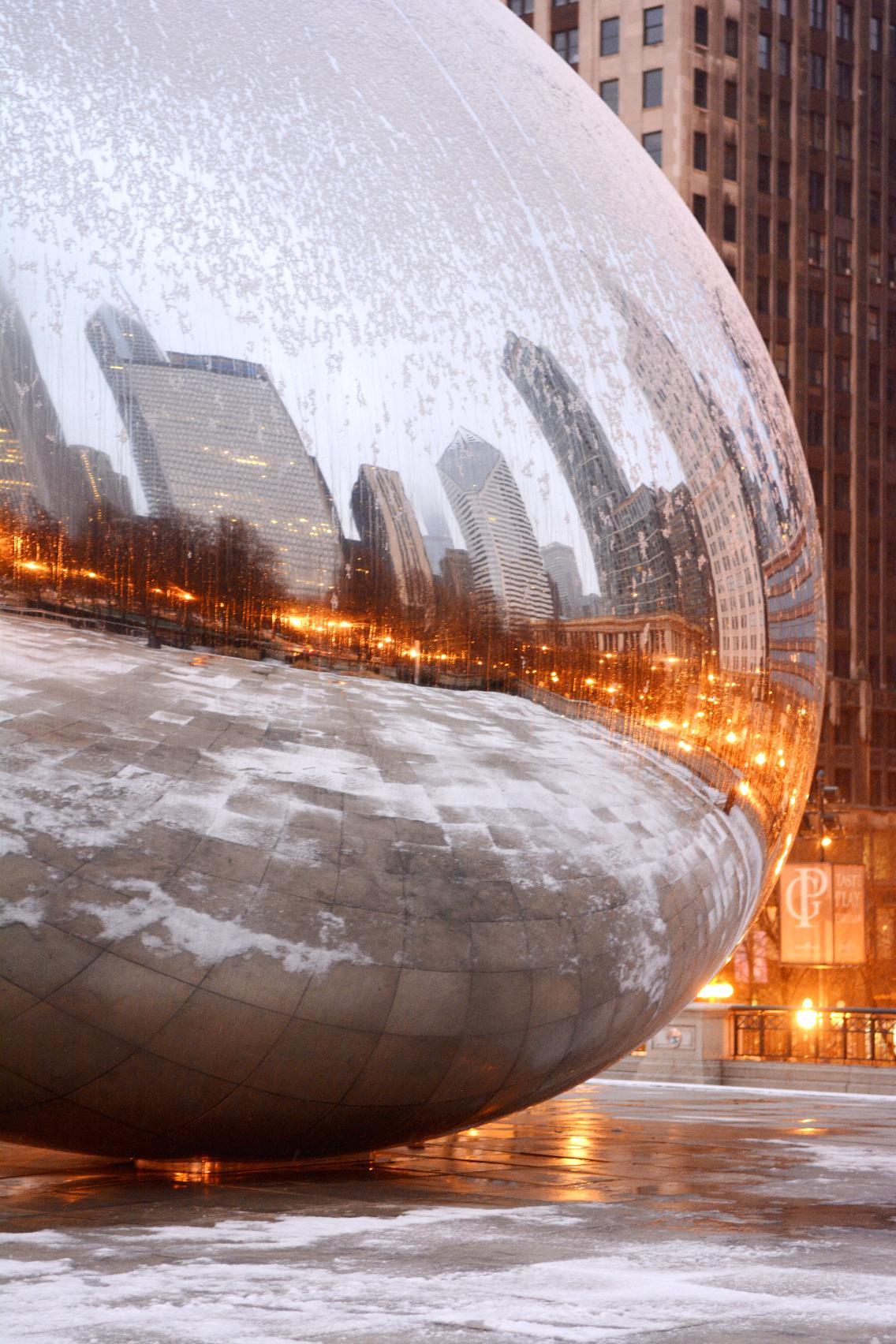 Chicago Millennium Park Cloud Gate The Bean 6