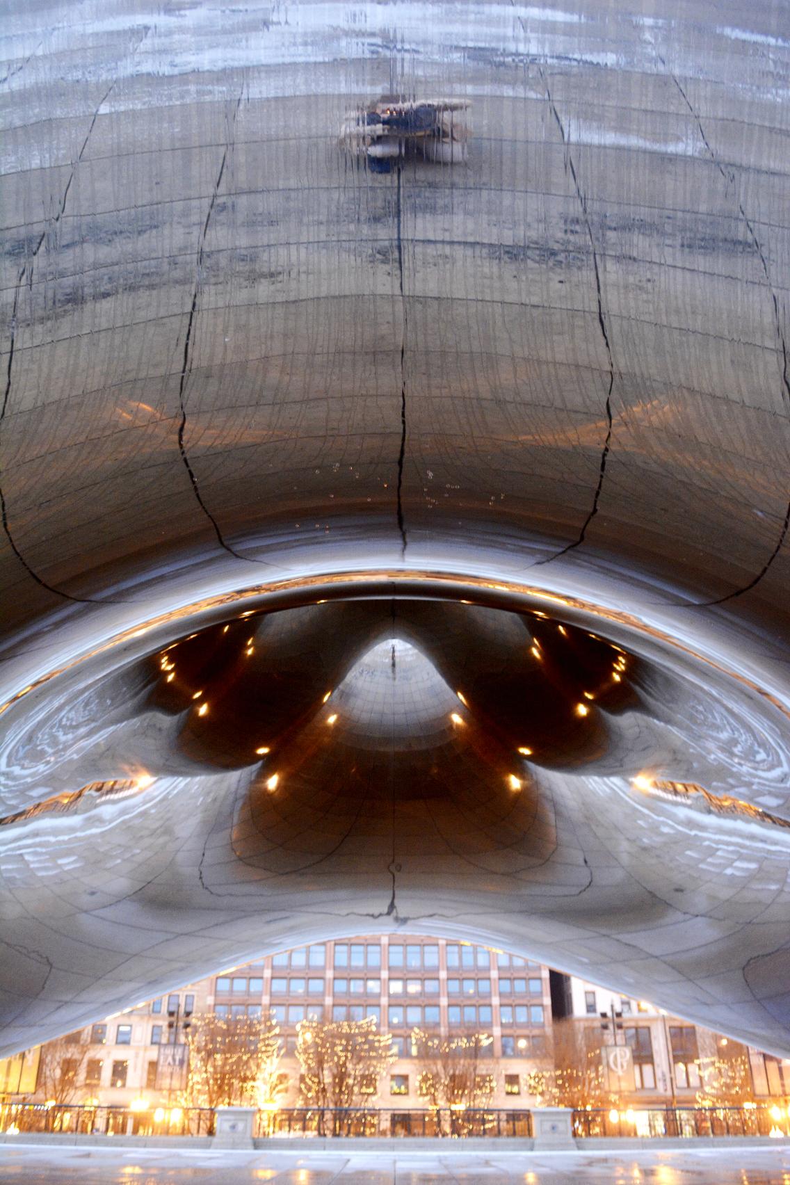 Chicago Millennium Park Cloud Gate The Bean 12