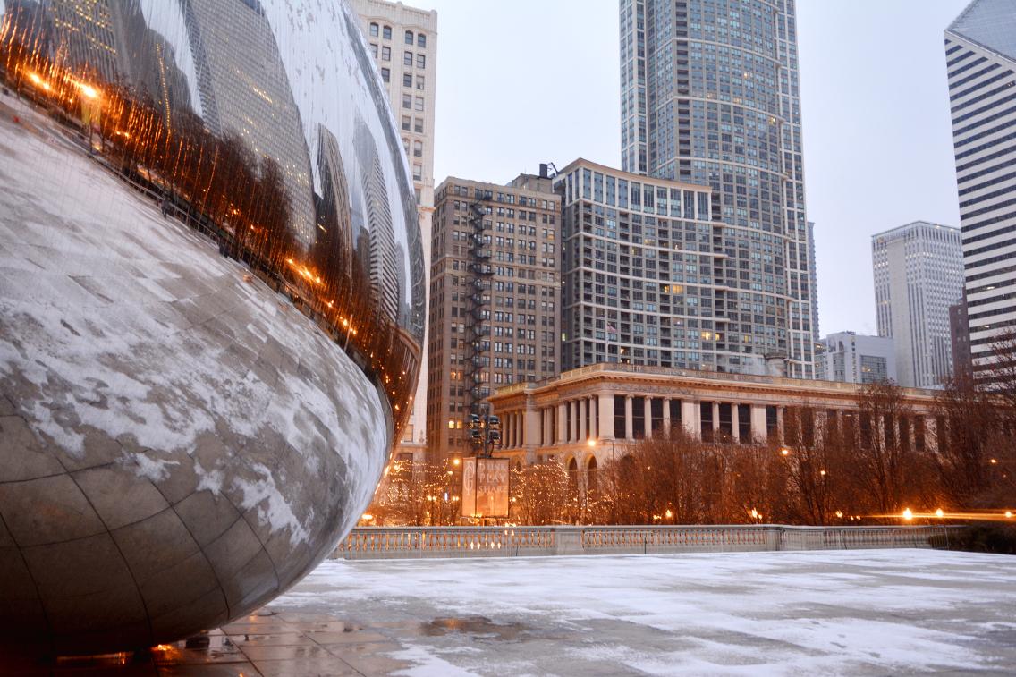 Chicago Millennium Park Cloud Gate The Bean 16