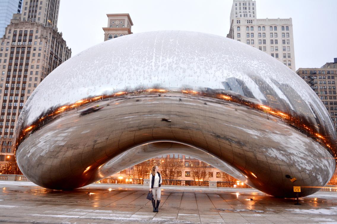 Chicago Millennium Park Cloud Gate The Bean 22