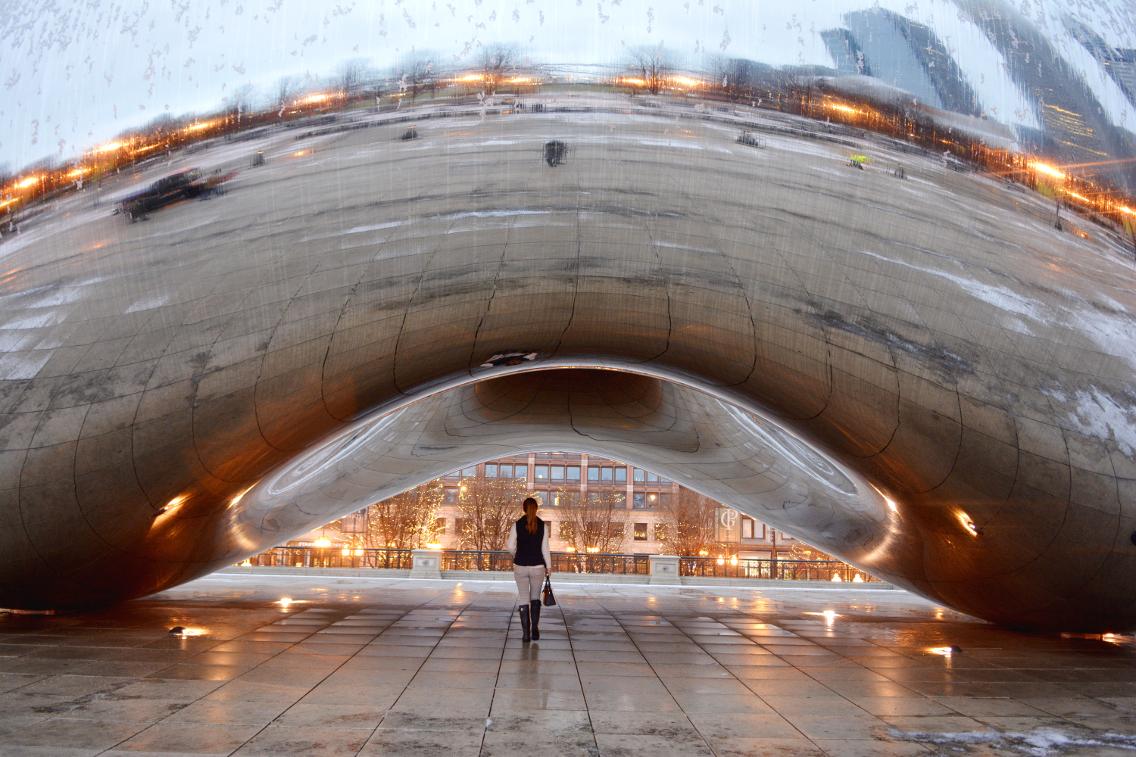 Chicago Millennium Park Cloud Gate The Bean 27