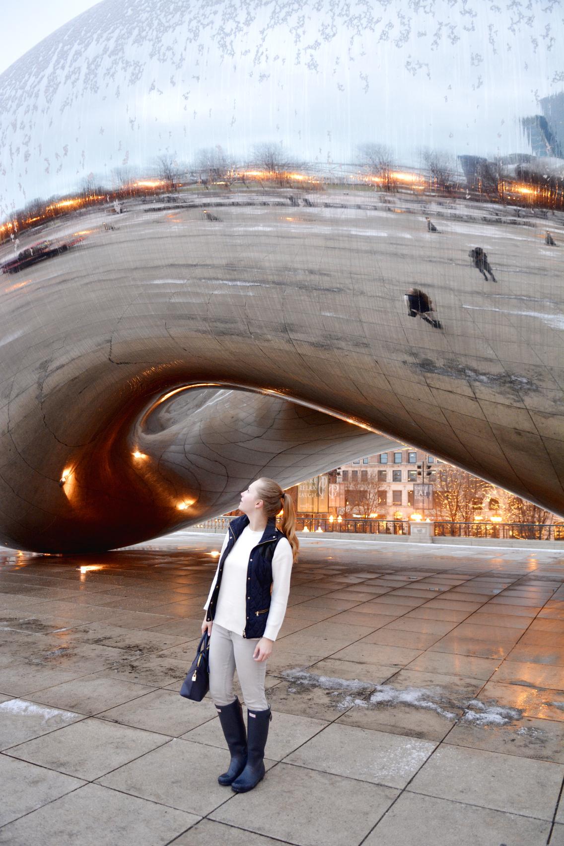 Chicago Millennium Park Cloud Gate The Bean 33
