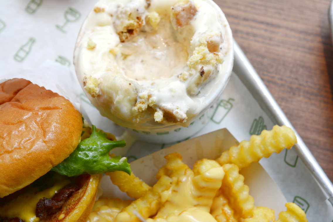 Shake Shack Chicago Salted Carame'L' Glazed and Infused Concrete