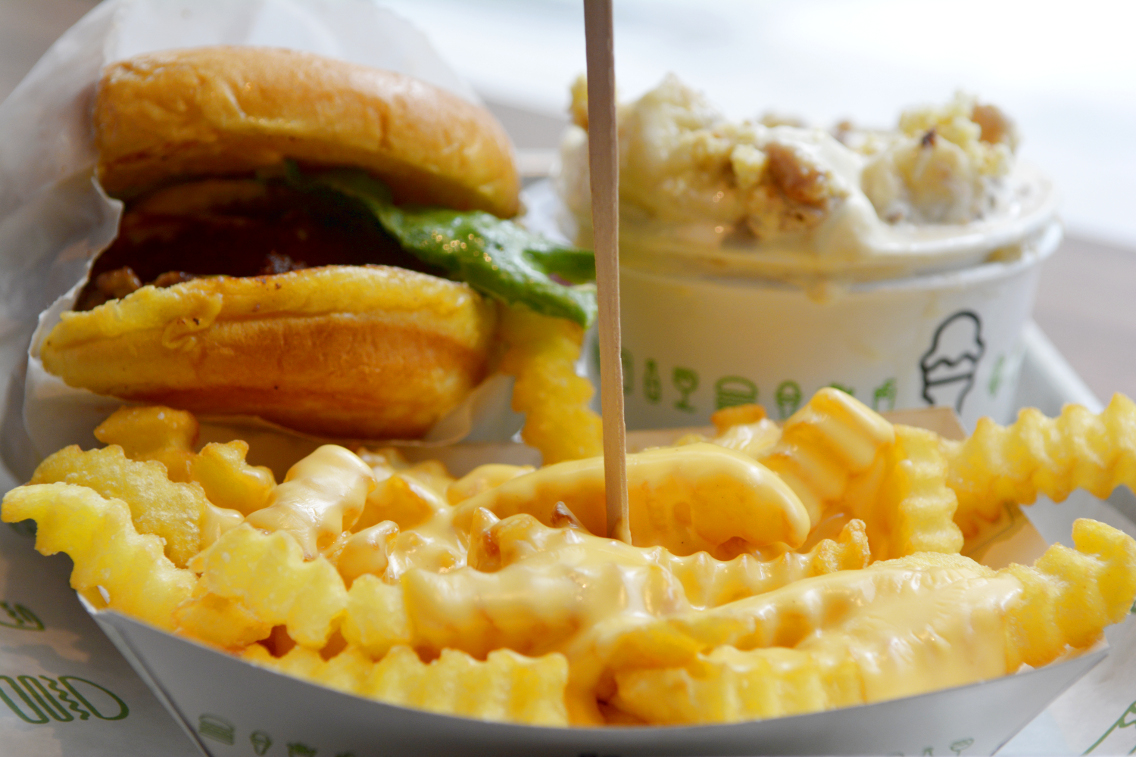 Shake Shack Cheese Fries 1