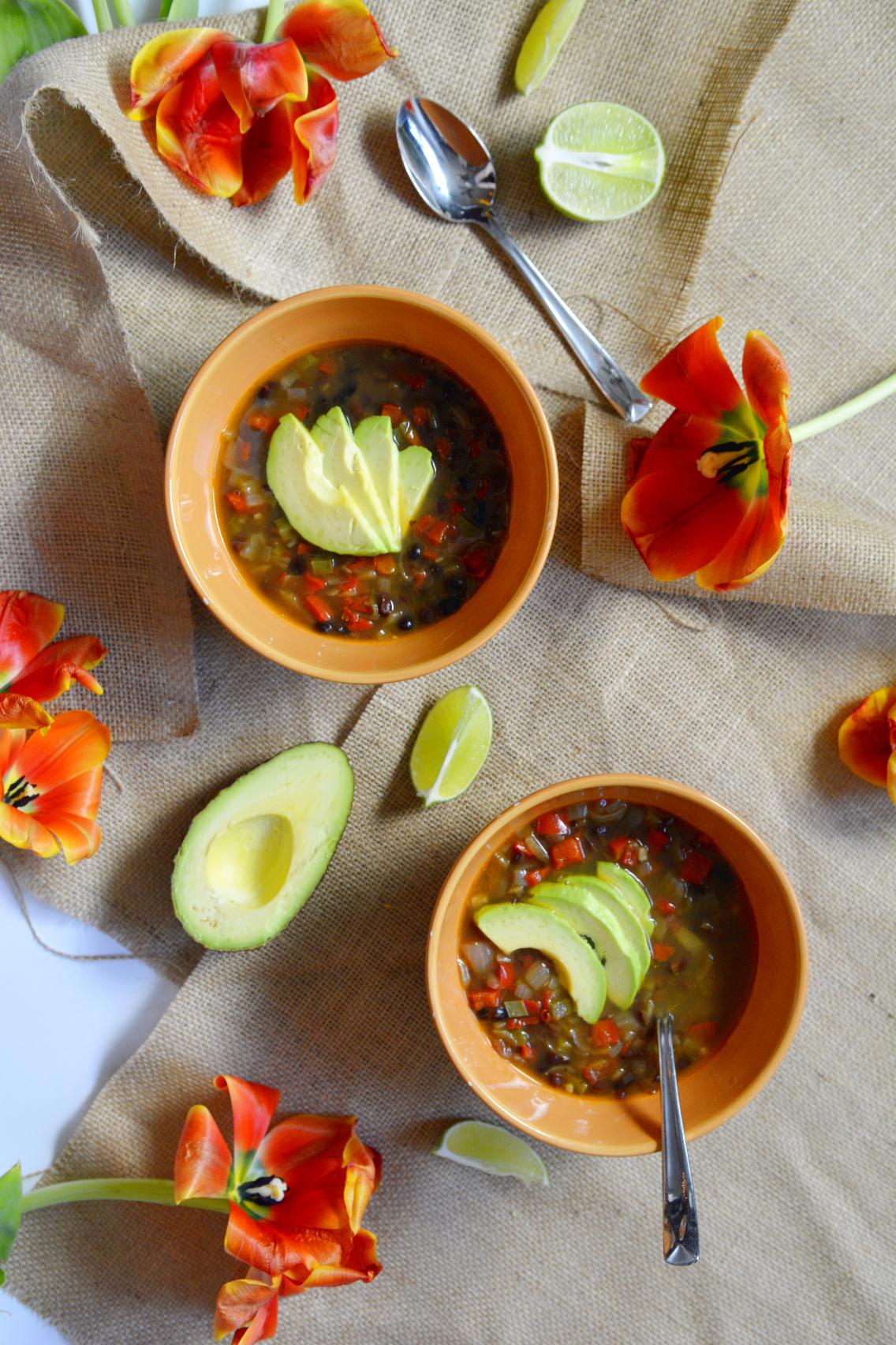 Vegetarian Black Bean Soup Recipe 3