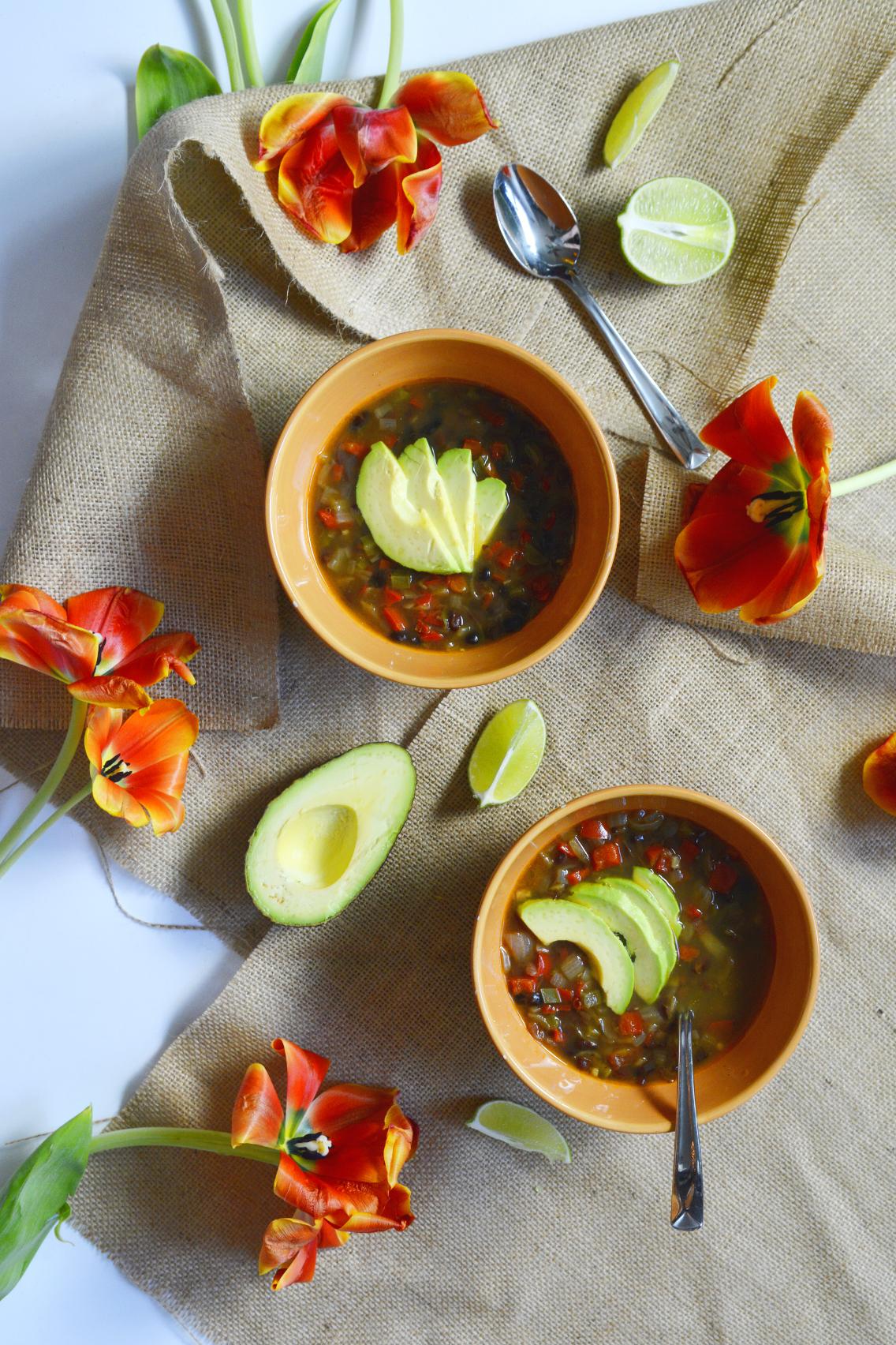 Vegetarian Black Bean Soup Recipe 12