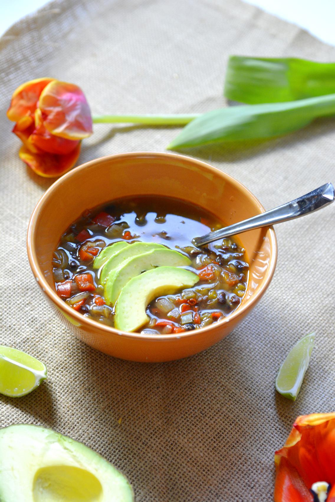 Vegetarian Black Bean Soup Recipe 16