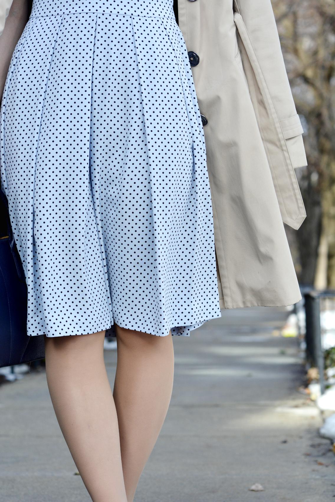 Hobbs Blue Sarah Dress 3