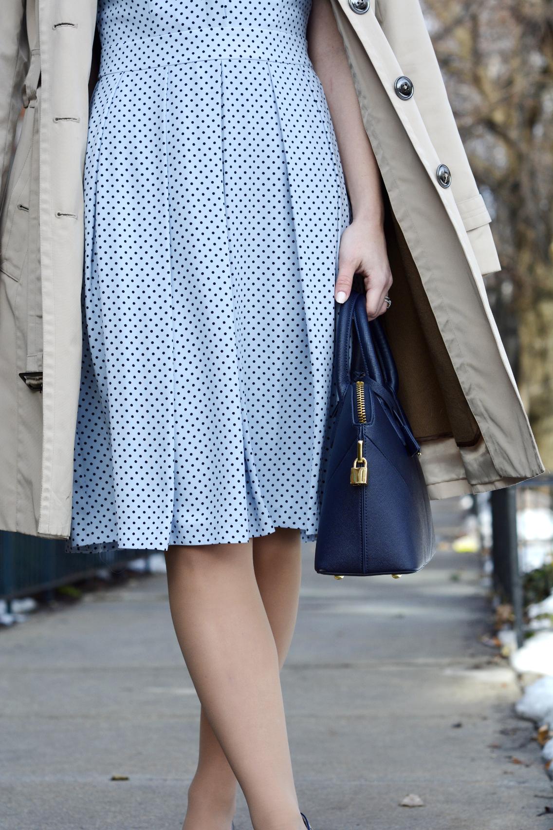 Hobbs Blue Sarah Dress 2
